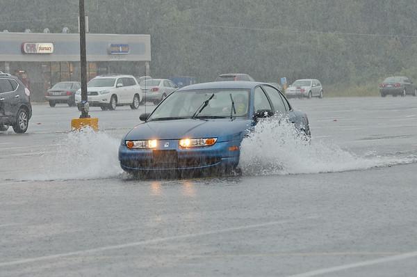 Summer rainstorm in Fitchburg