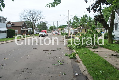 6-30-14 Third Street storm cleanup