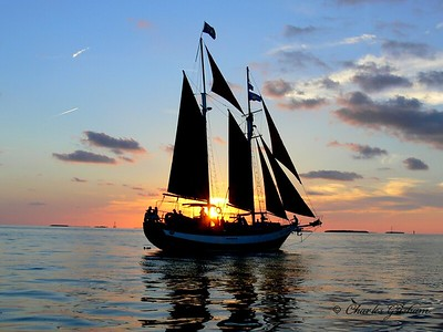 Taken in Key West while on a short sunset cruise.