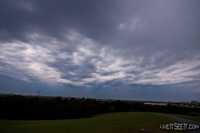 Sydney Storm Tue Nov 8 2011 - from Sydney Park, St Peters