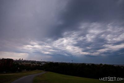 Sydney Storm Tue Nov 8 2011 - from Sydney Park, St Peters