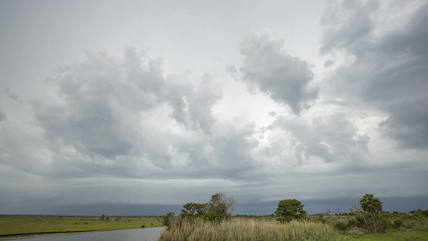Shelf Cloud Over St. John's River - 1