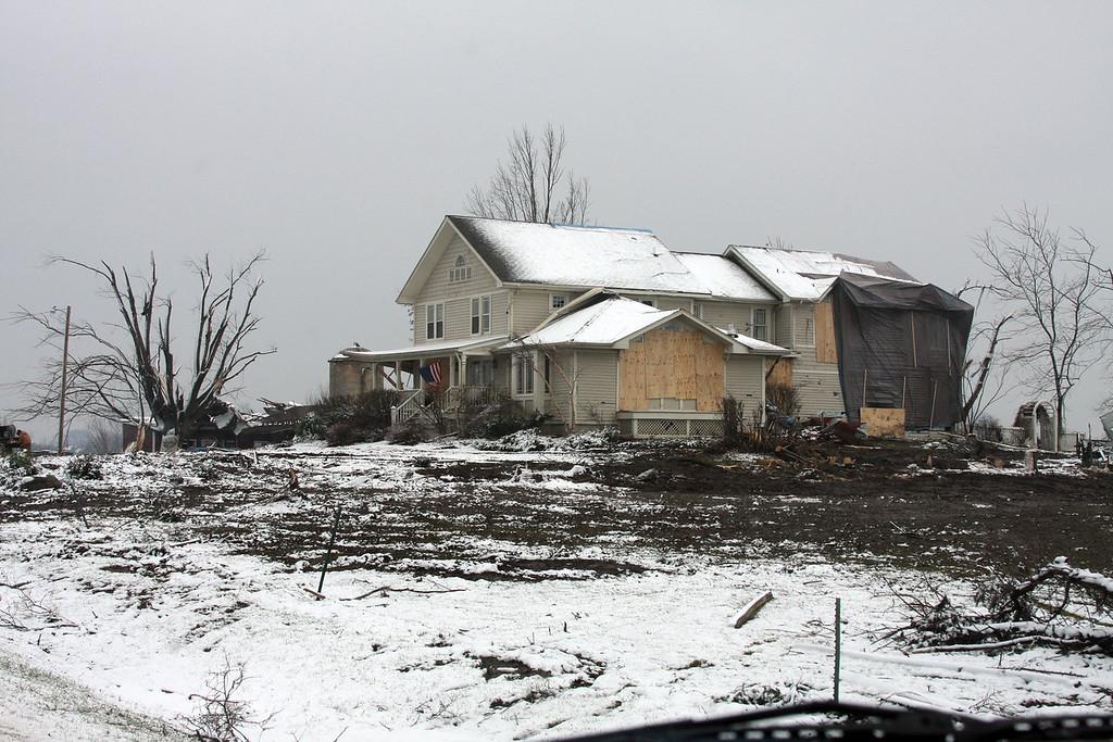 Tornado Damage- Edwards Apple Orchard- Winnebago,IL<br /> January 7, 2008