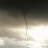 Cold air funnel over Wichita Mid-Continent Airport, April 4, 2012.