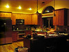 Our warm and inviting kitchen.