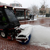 "rews from the City of Boulder Parks and Recreation work to remove the snow on the Pearl Street Mall.<br /> People in downtown Boulder go about their day during a Valentine's Day snow on Thursday.<br /> For more snow photos and a video, go to  <a href=""http://www.dailycamera.com"">http://www.dailycamera.com</a>.<br />  Cliff Grassmick  / February 14, 2013"