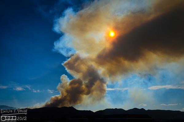 Waldo Canyon Fire - Colorado - 2012
