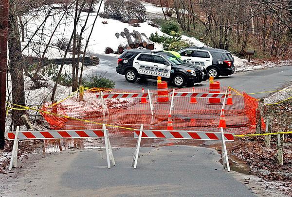 Water rises around Lowell region
