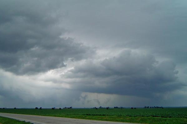 May 30 - N Macon County IL (tornado warned storm)