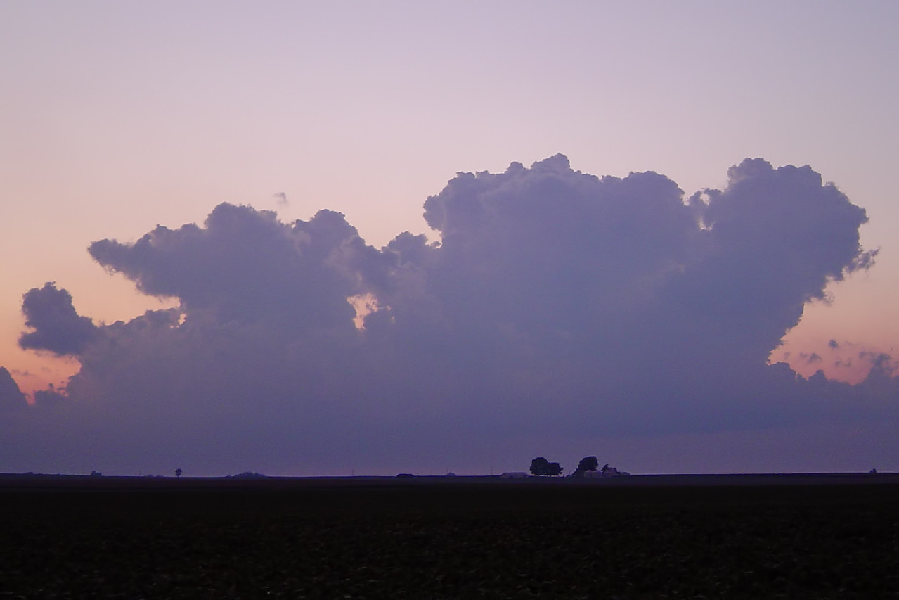 August 9 - NW Macon County IL
