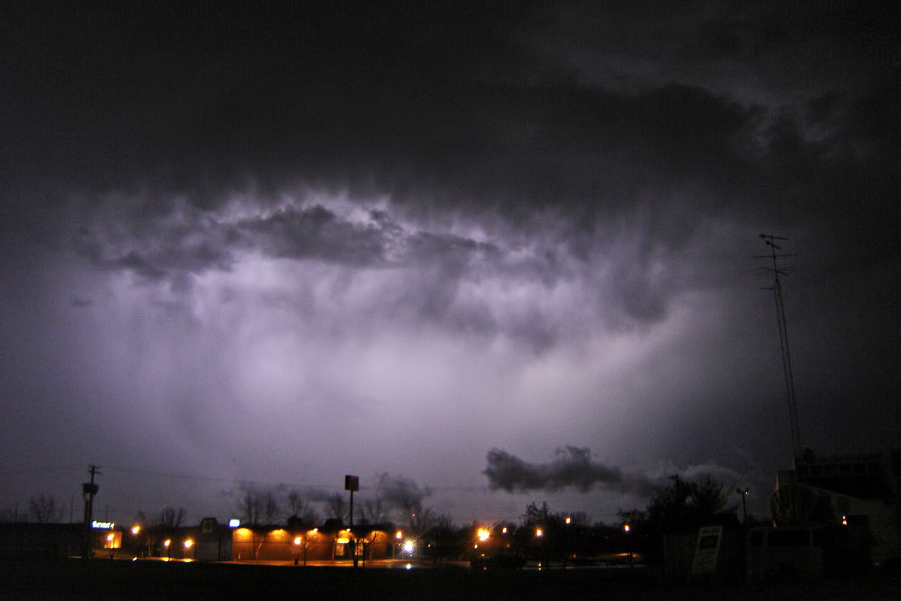 "March 12 - N Macon County IL (overnight squall line after the supercell event)<br /> <br /> Related link <a href=""http://www.crh.noaa.gov/ilx/?n=mar12tor"">http://www.crh.noaa.gov/ilx/?n=mar12tor</a>"