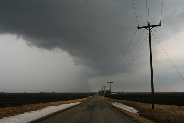 March 1 - S Macon County IL (tornado warned and doing damage up at Elwin IL)  Related link http://www.crh.noaa.gov/ilx/?n=1mar07