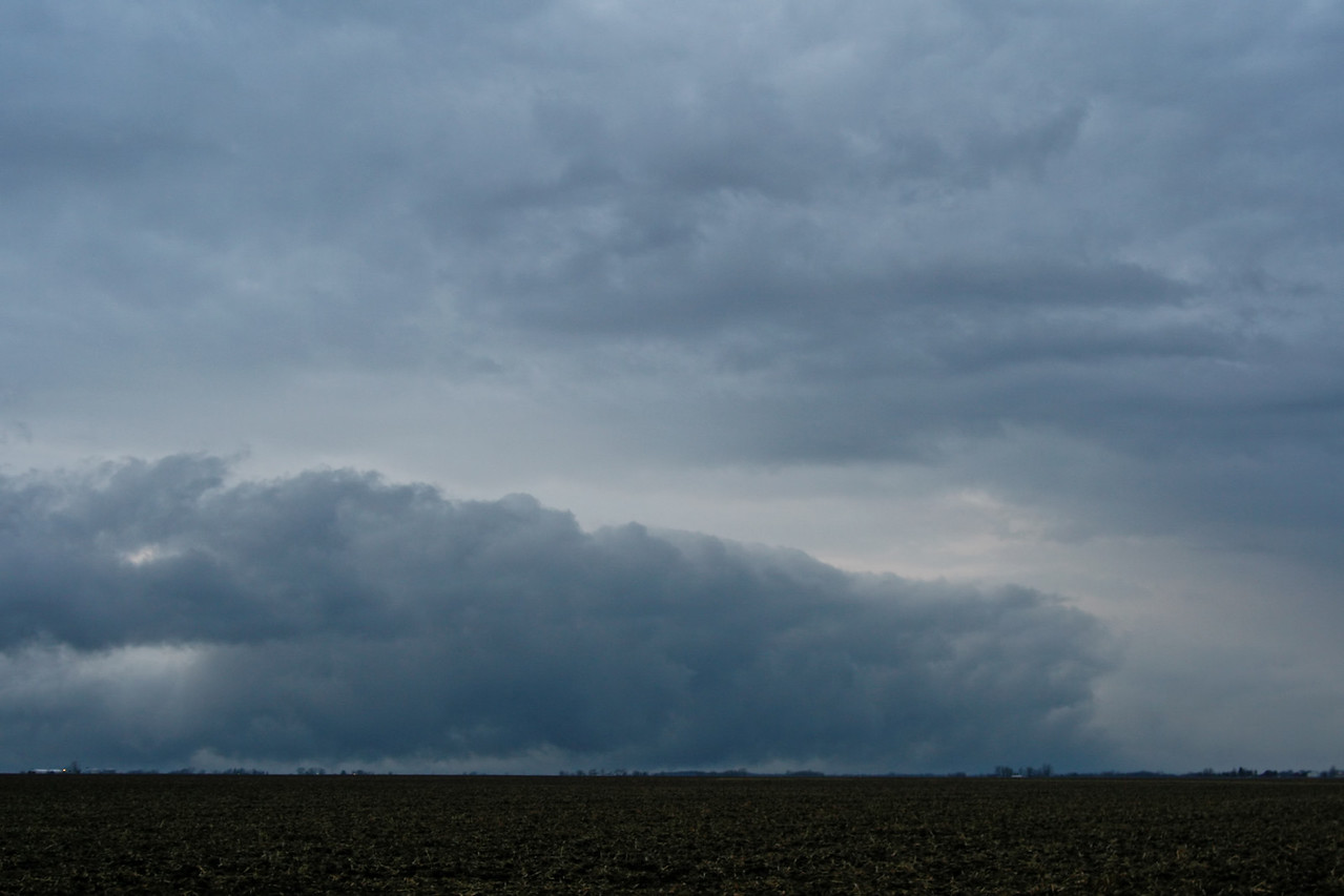 December 31 - S Macon County IL (cold front coming in behind the previous squall line)