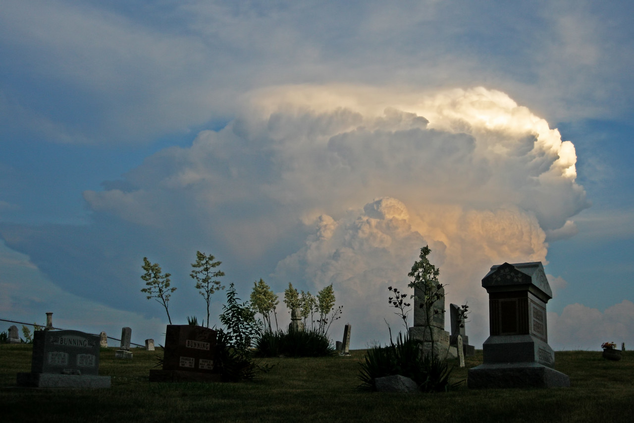 June 21 - S Macon County IL (storm over Effingham IL)