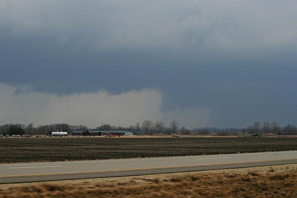 March 1 - S Macon County IL (tornado warned)  Related link http://www.crh.noaa.gov/ilx/?n=1mar07
