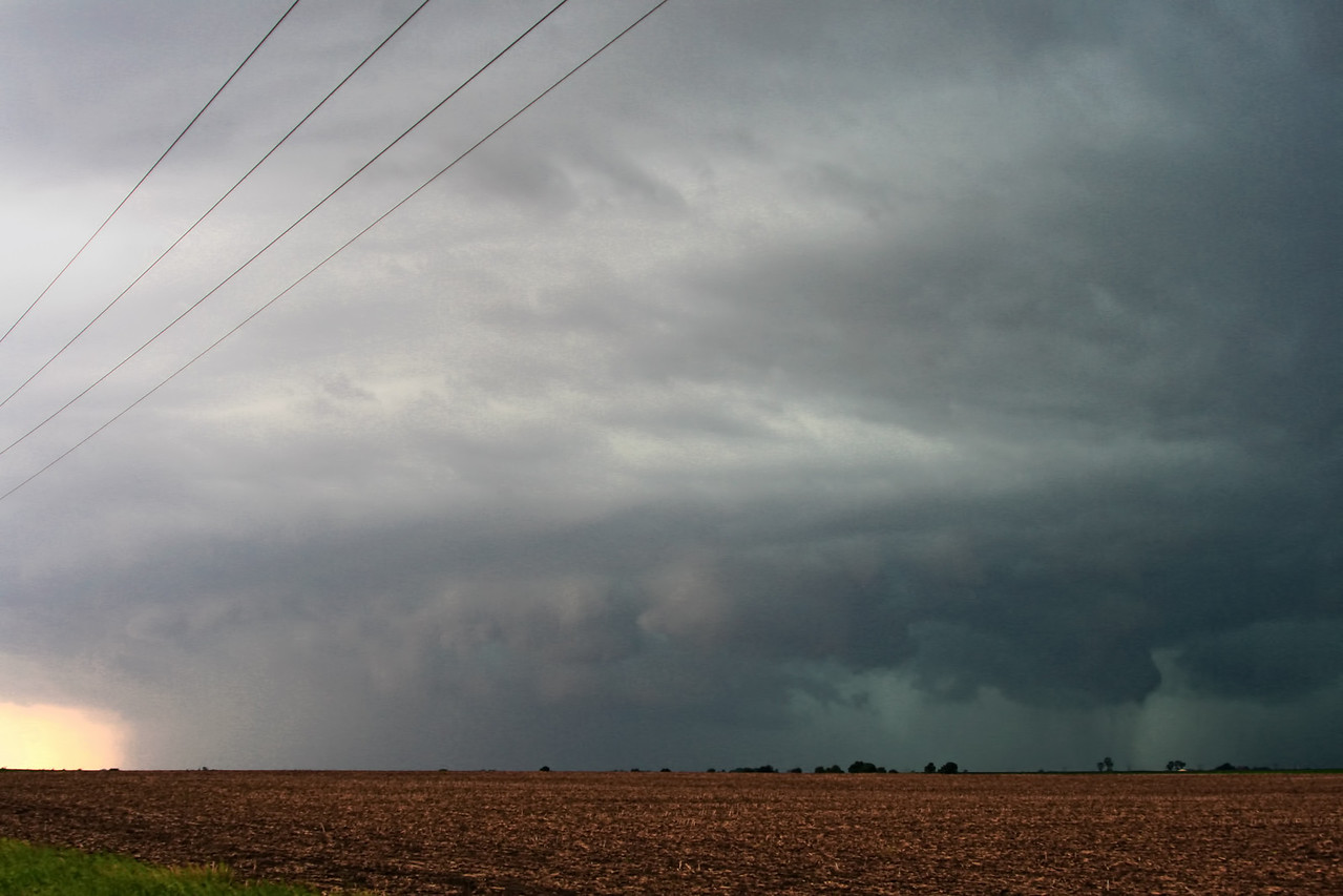 June 6 - Edgar County IL (secondary tornado warned storm S of the previous)