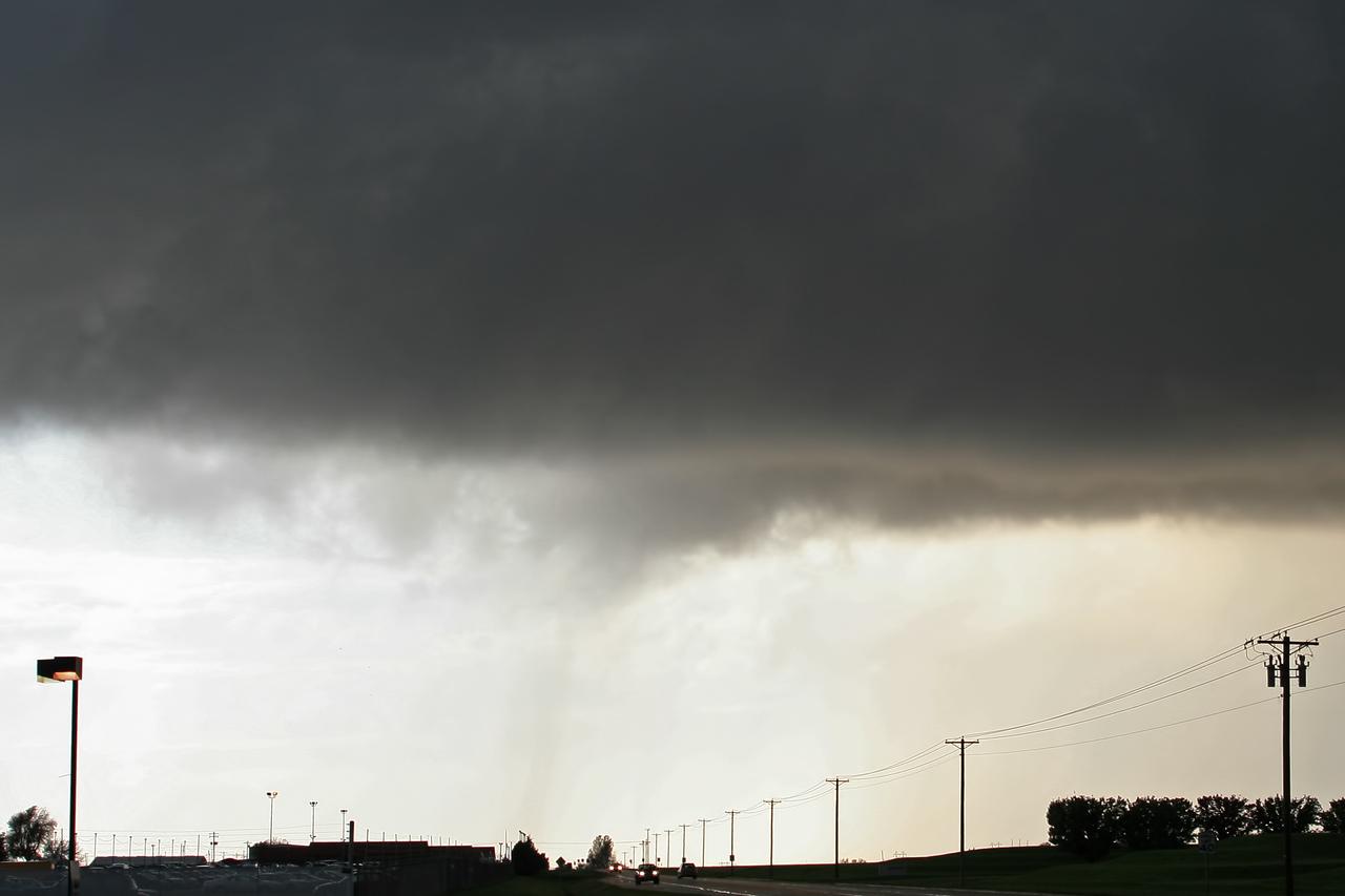 October 24 - NW Macon County IL (possible landspout tornado)