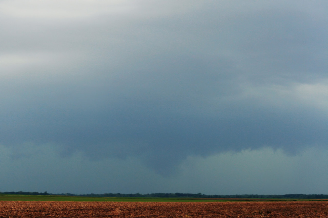June 6 - Edgar County IL (developing tornado facing SW of 133 and 49)