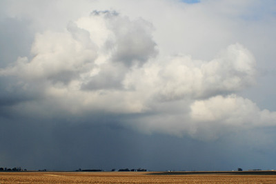 March 23 - Southern Macon County (snow squall)