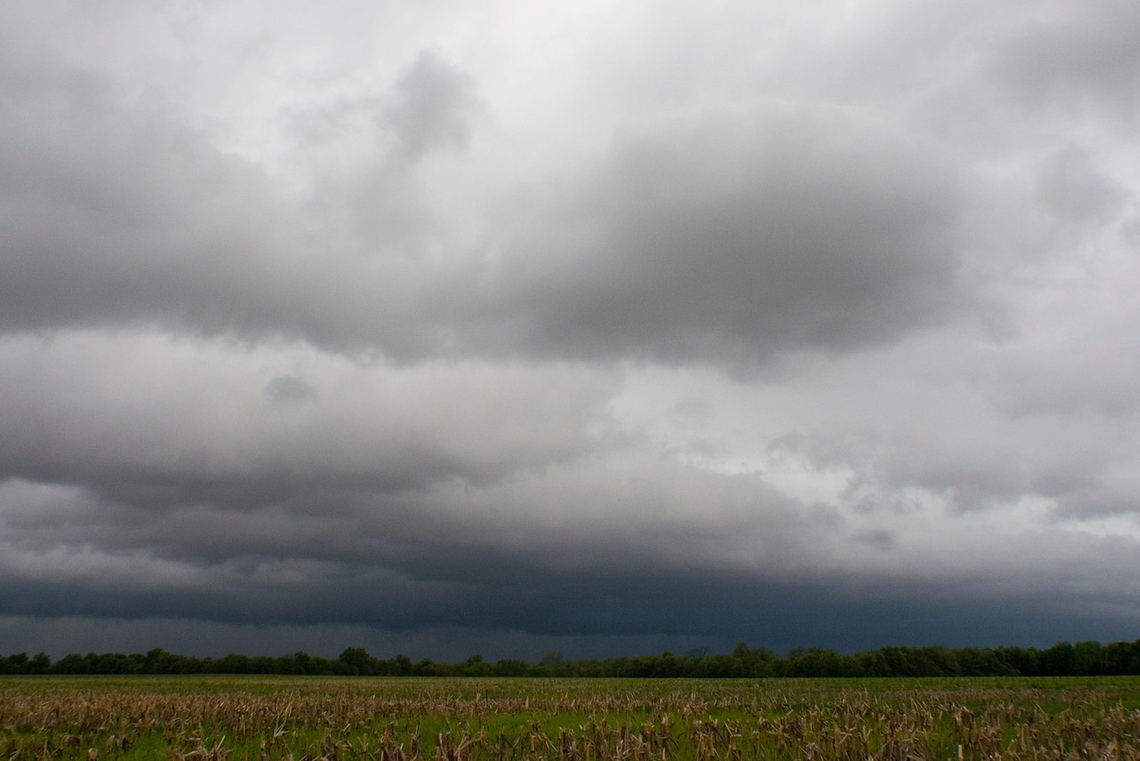 April 24 - Tornado Warned Storm, Bond County Illinois