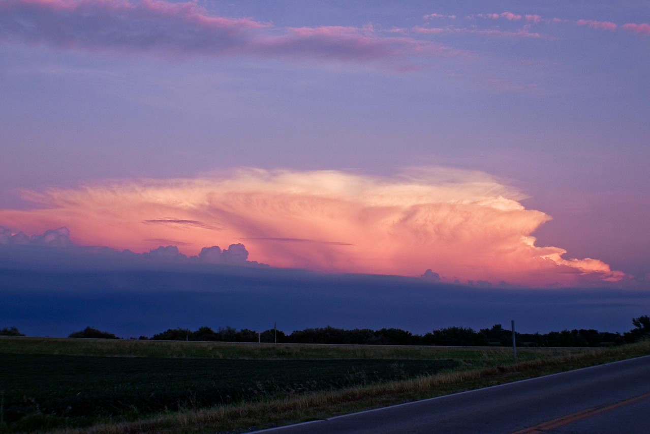 July 15 - Storm Over Southern Illinois seen from Macon County Illinois