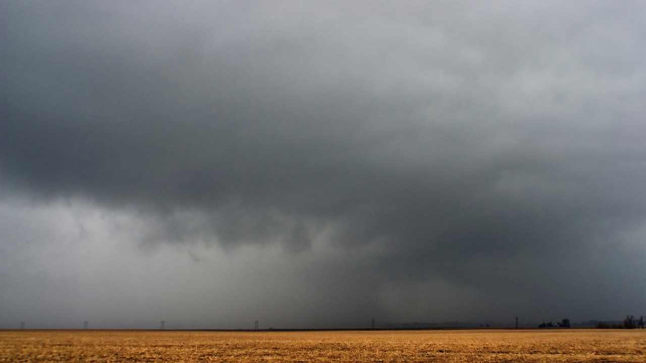 December 31 - Tornado Warned Storm, Logan County Illinois