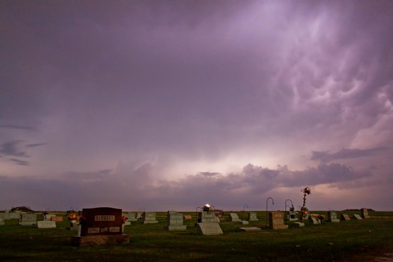 October 24 - Severe Thunderstorm, NW Macon County Illinois