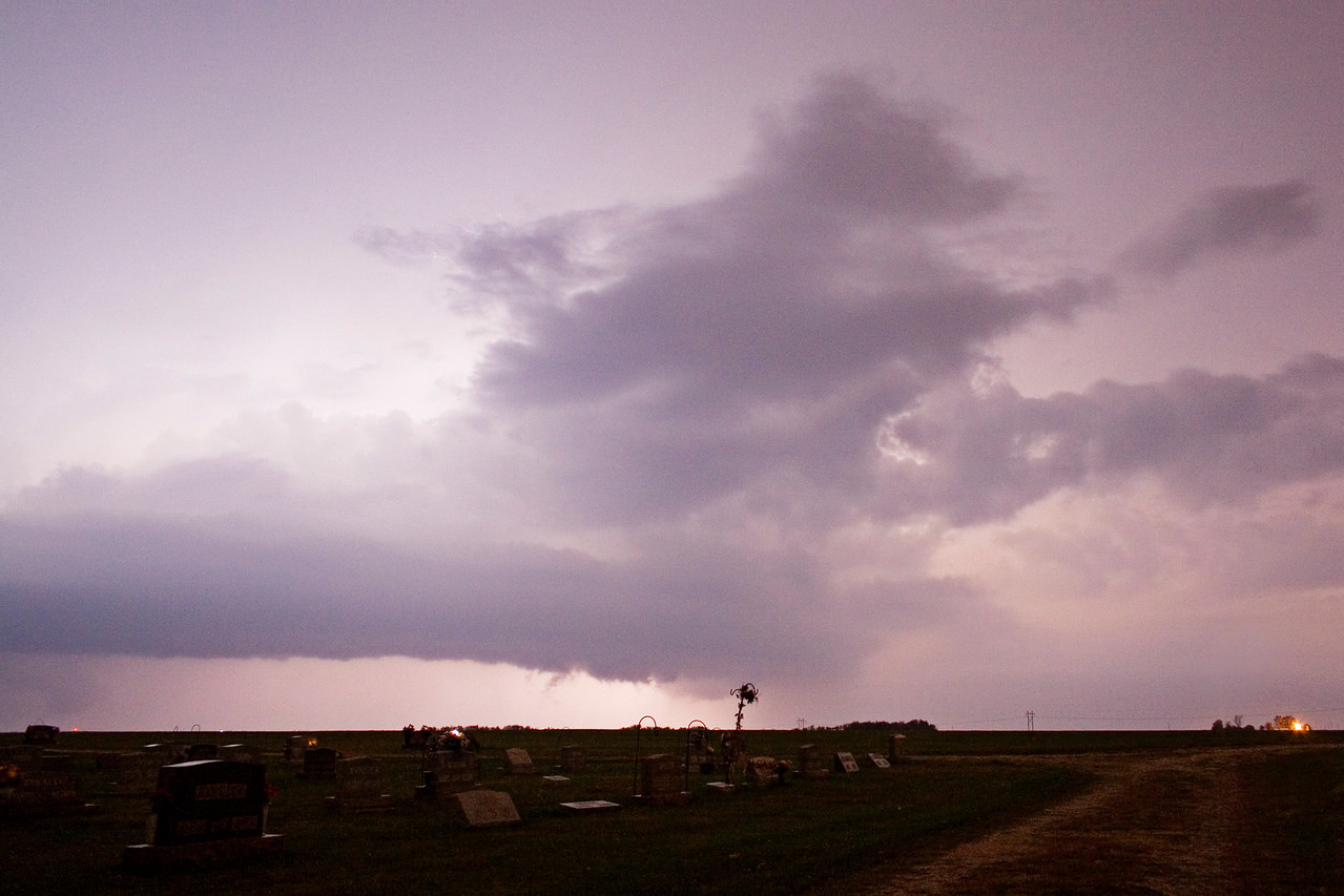 October 24 - Severe Thunderstorm, NW Macon County Illinois