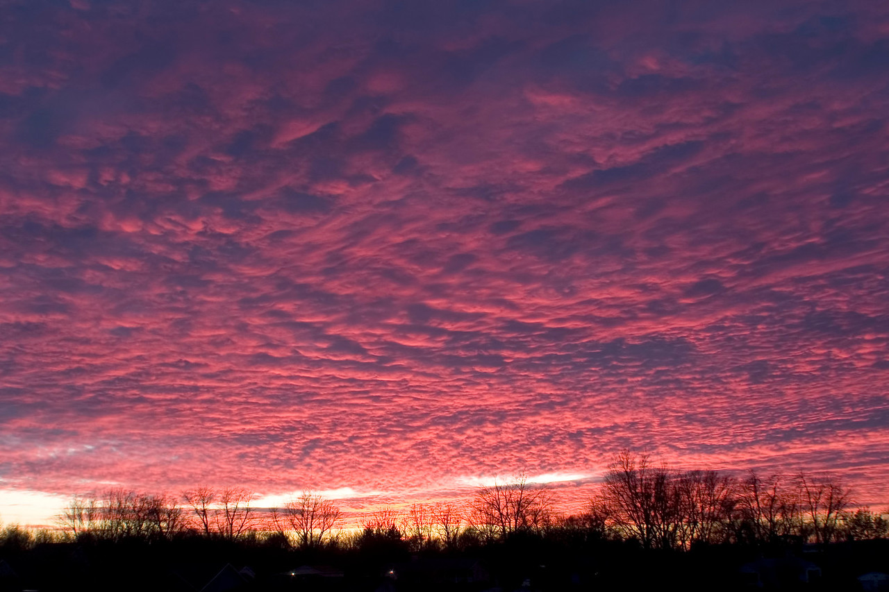 January 4 - Sunset, Decatur Illinois
