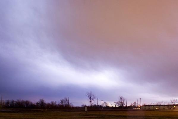 January 24 - Early Morning Storm, Near Forsyth Illinois