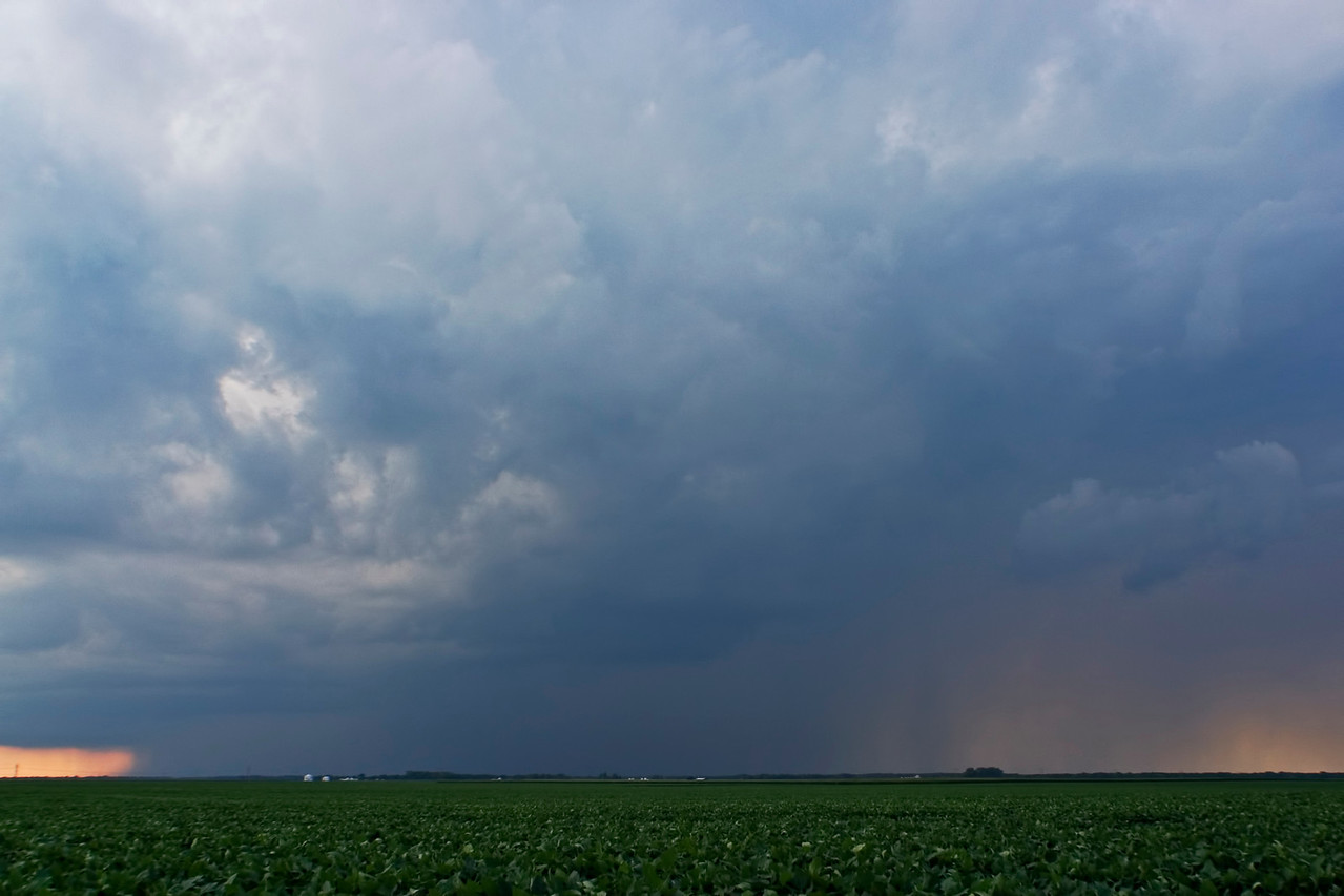 July 14 - Pulse Storms, Christian County Illinois