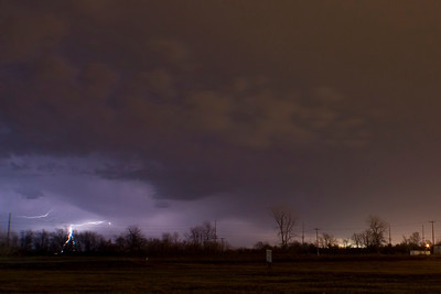 January 24 - Early Morning Storm, Near Forsyth Illinois