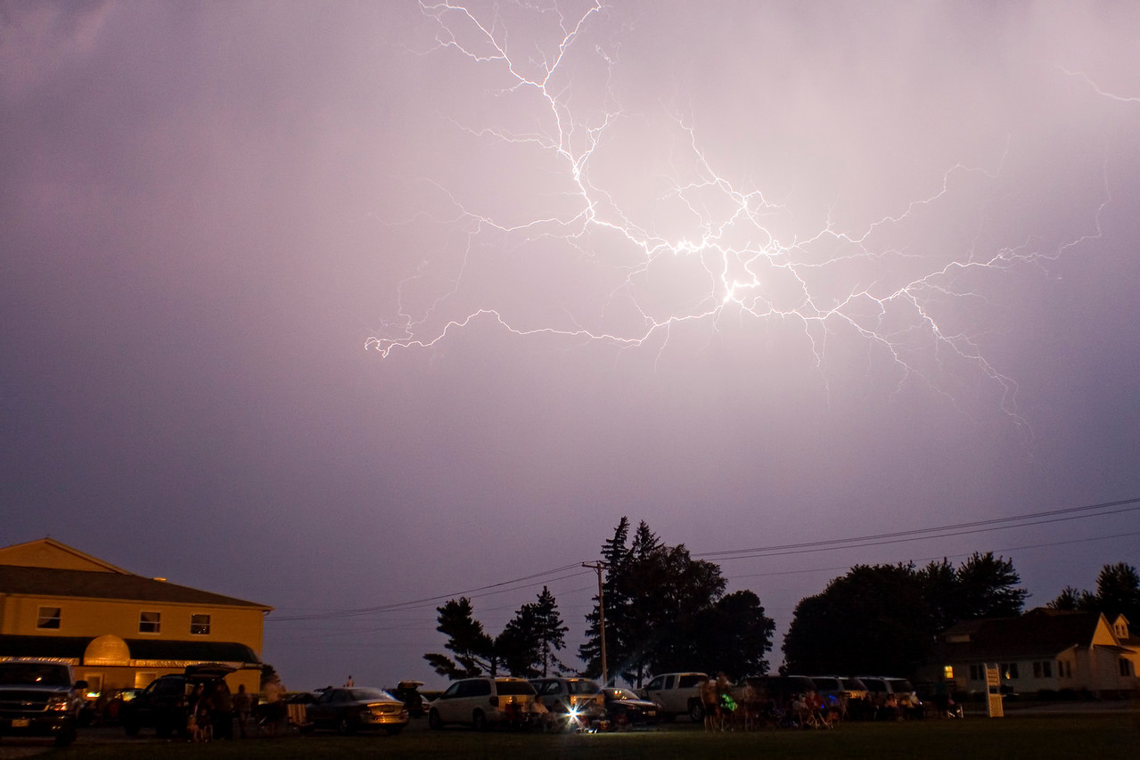 June 30 - Fireworks with Lightning at Arthur Illinois (pre-show)