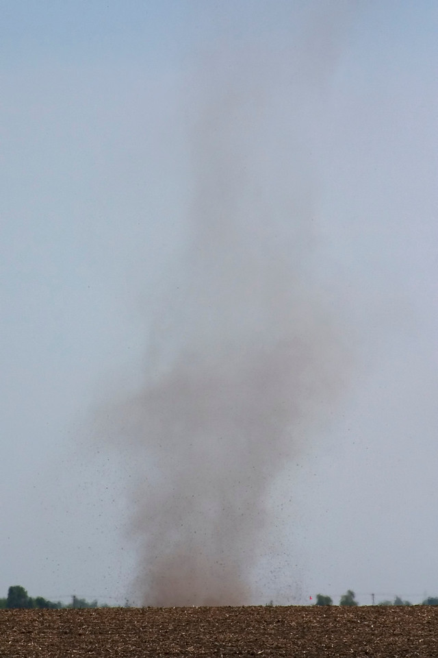May 17 - Dust Devil, Macon County Illinois