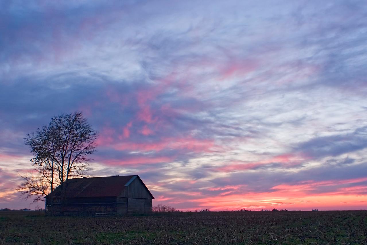October 27 - Sunset, Macon County Illinois