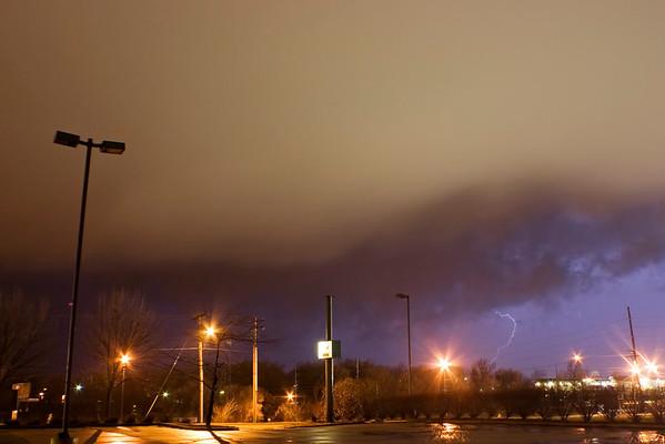 January 17 - Overnight Squall Line, Near Forsyth Illinois
