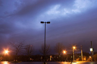 January 17 - Overnight Squall Line, Near Forsyth Illinois
