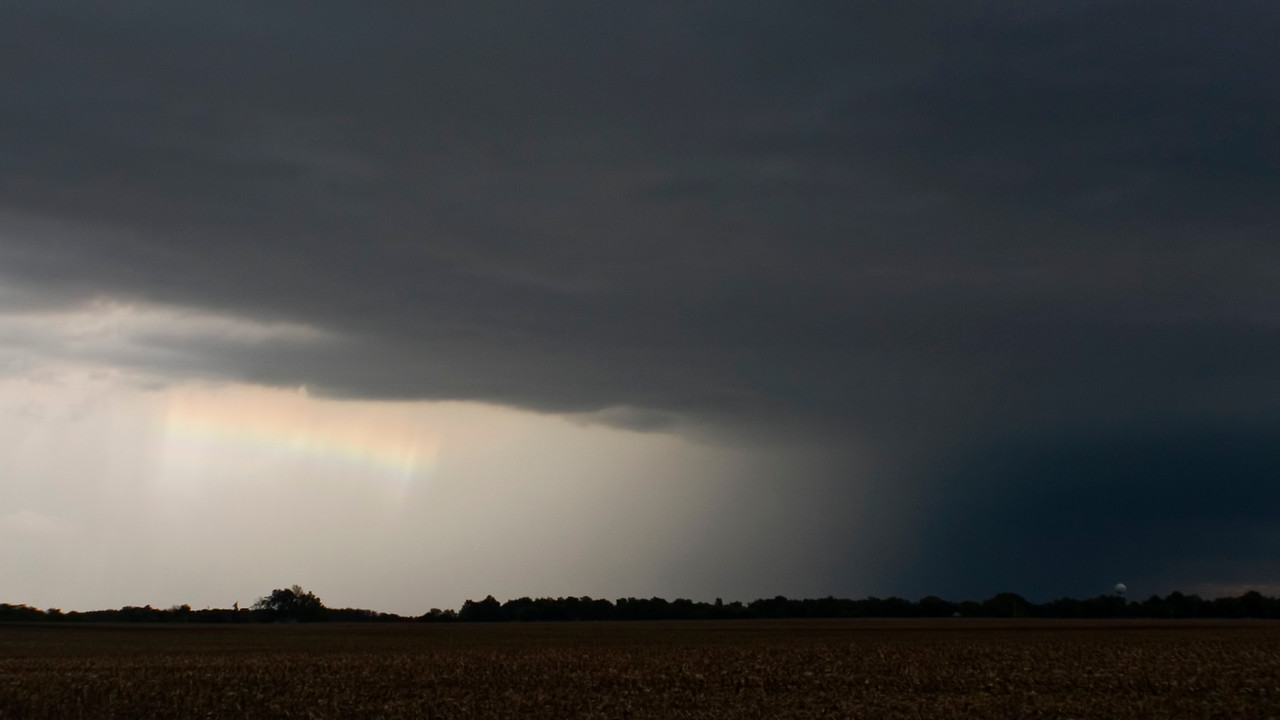 September 21 - Severe Thunderstorm, Macon County Illinois (Supercell I)