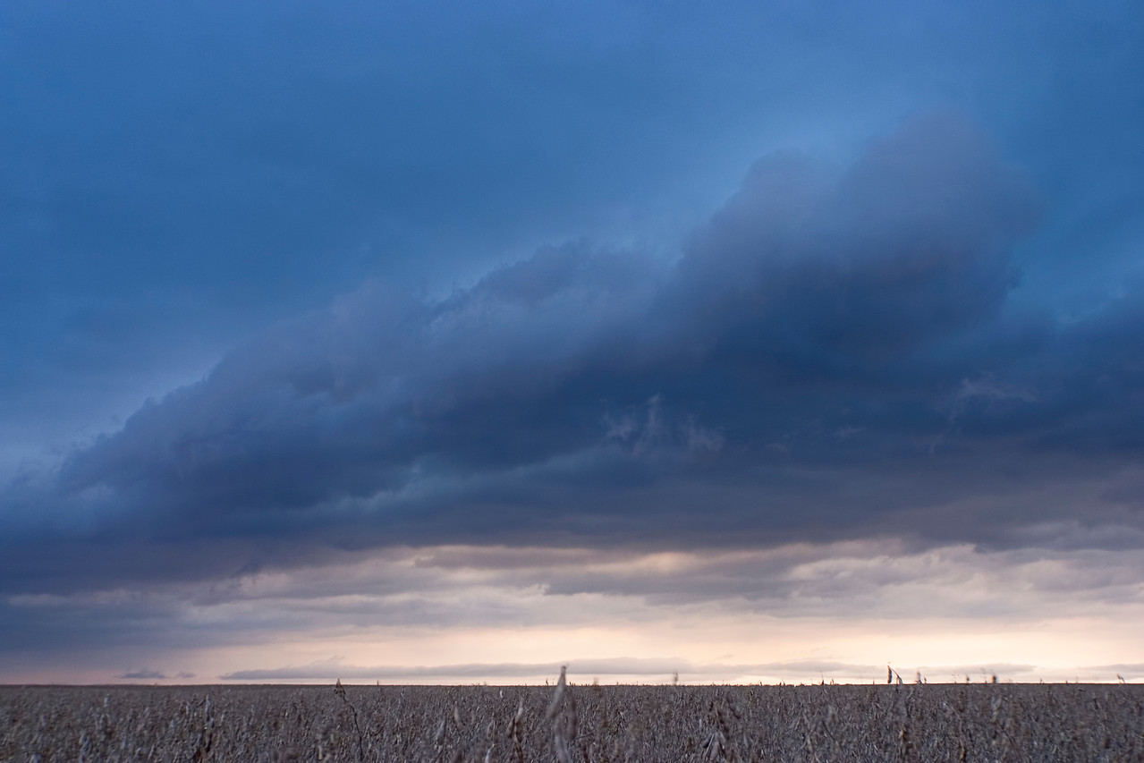 October 25 - Chilly Squall Line, Macon County Illinois