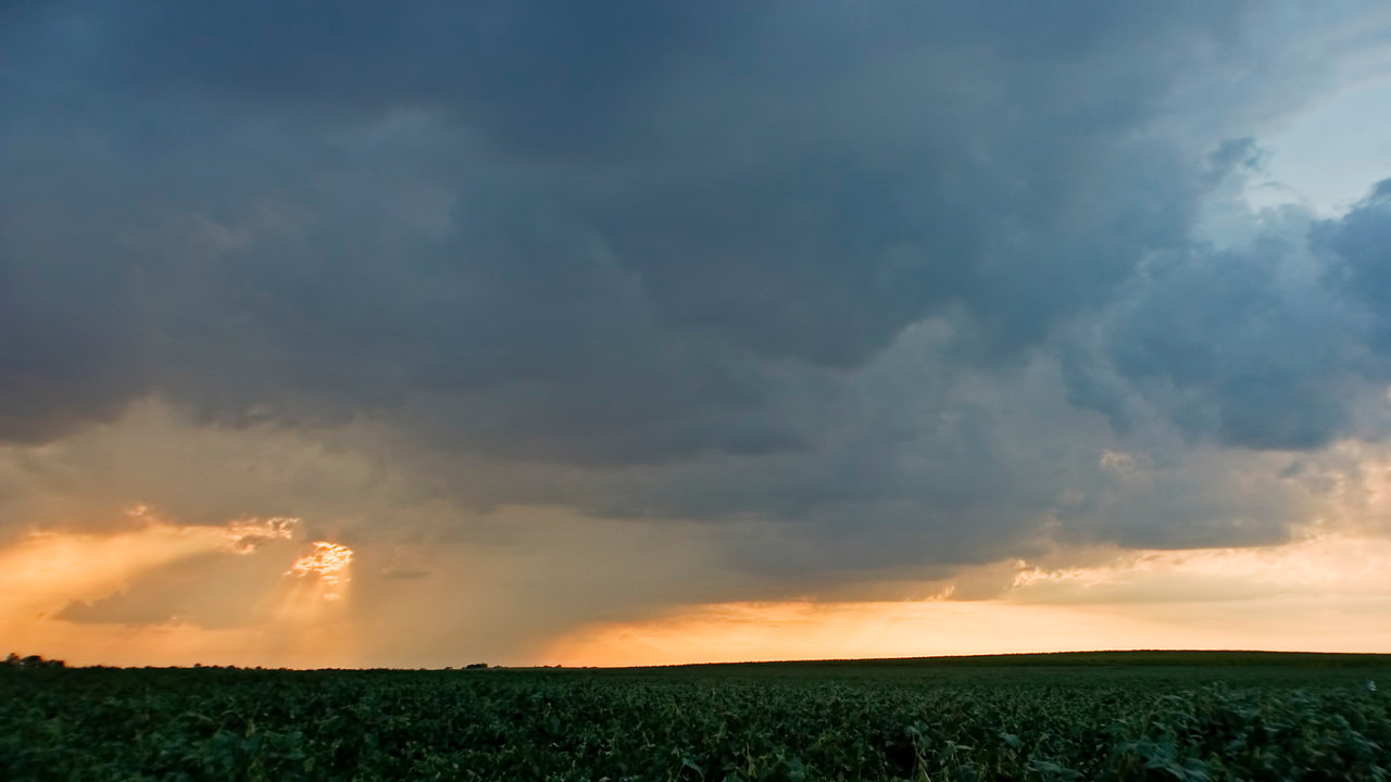 August 9 - Post Event Sunset Showers, Champaign County Illinois