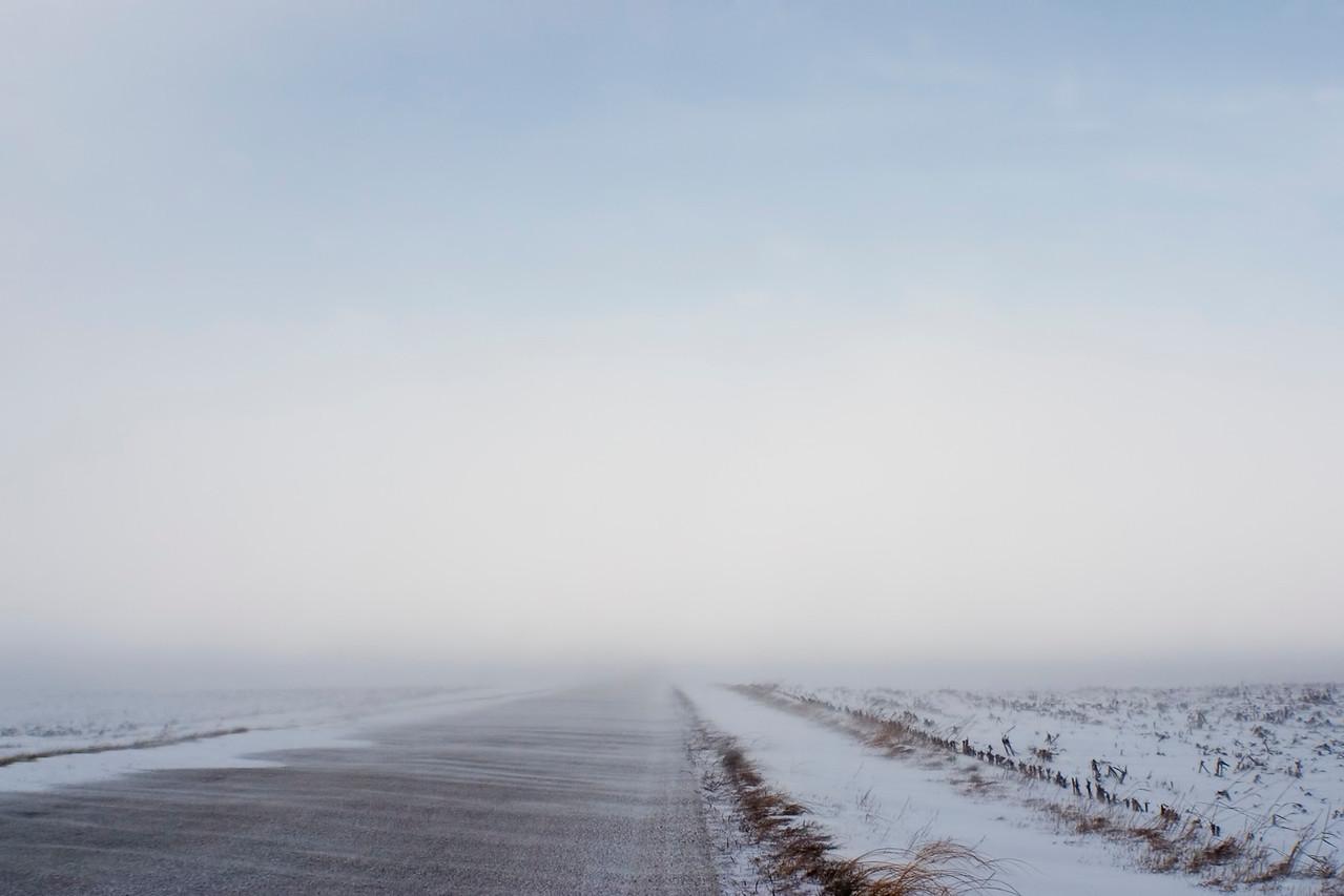 January 12 - Near Blizzard Conditions, Macon County Illinois