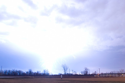 January 24 - Early Morning Storm, Near Forsyth Illinois (oops! lol)