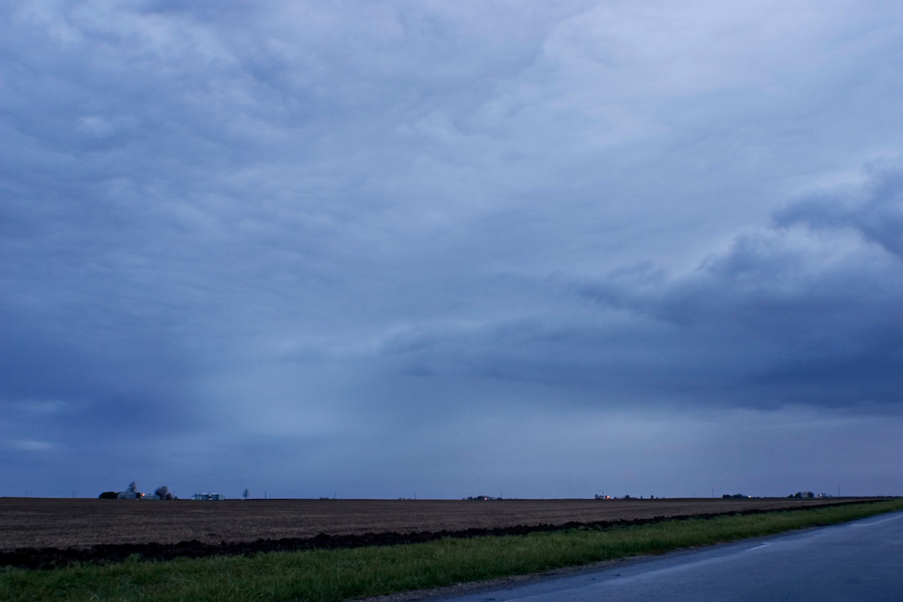 November 3 - Morning Sleet Storm, Dewitt County Illinois