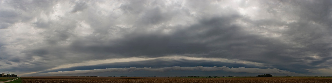 September 7 - Morning Shelf Cloud, Macon County Illinois