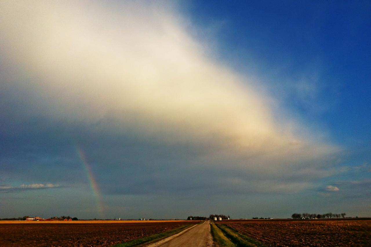 September 10 - Sunrise Rainbow, Near Forsyth Illinois
