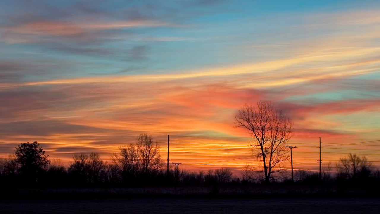 November 15 - Sunrise, Near Forsyth Illinois