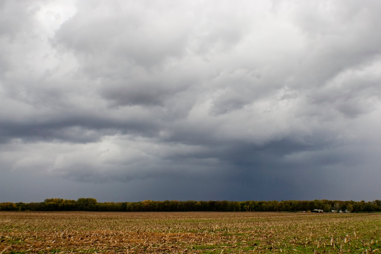 October 14 - Sub Severe Storm At Kenney, Dewitt County Illinois