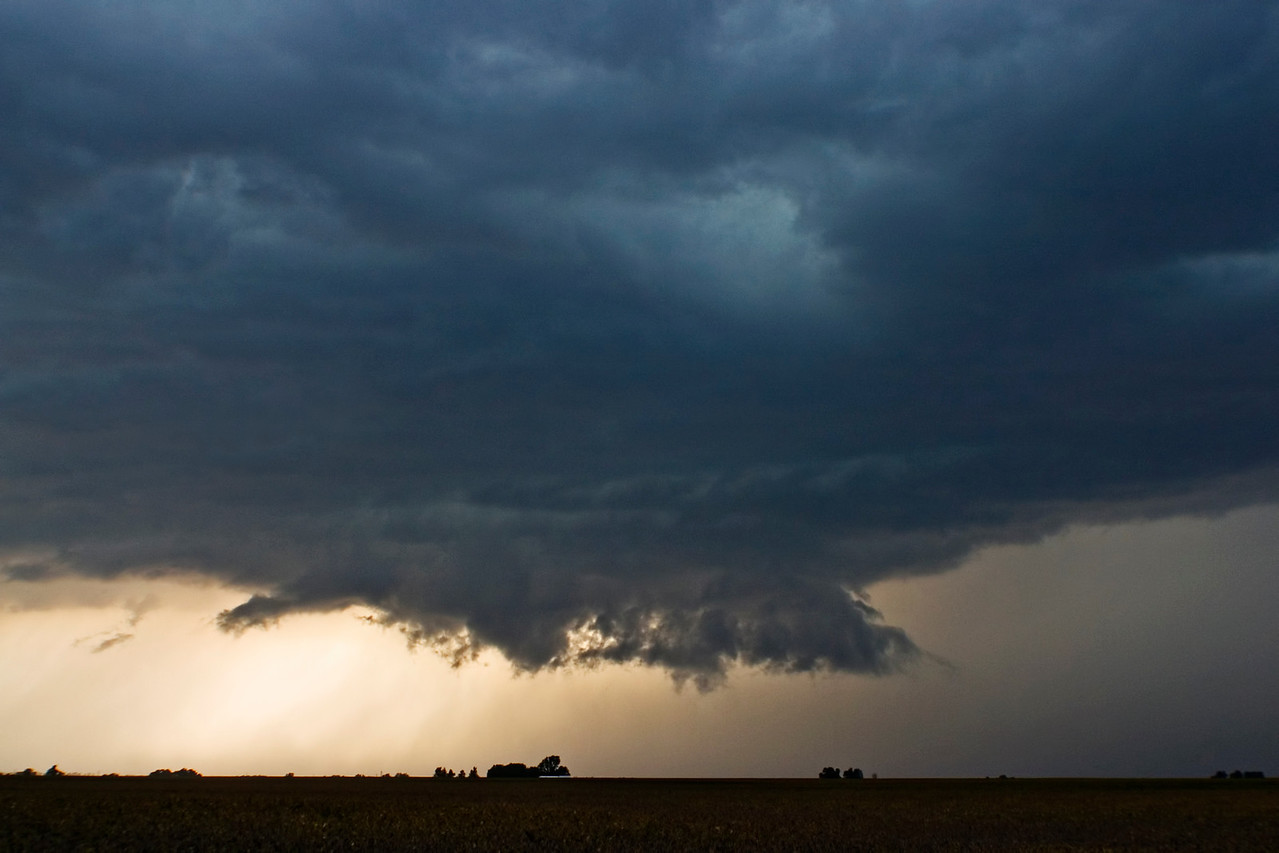 September 21 - Supercell III, Near Niantic, Macon County Illinois