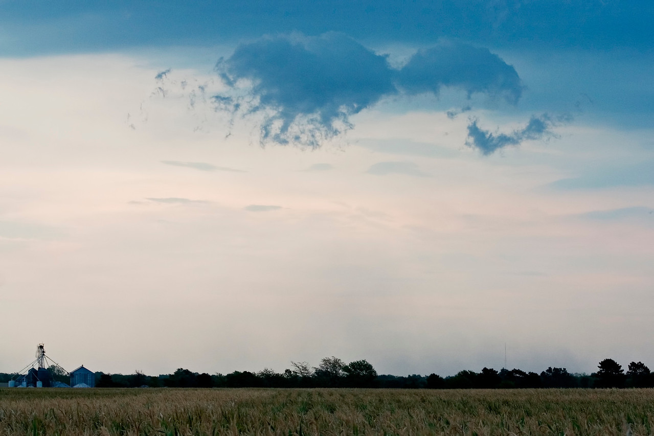 August 2 - Marginally Severe Outflow (Gustnado), Macon County Illinois