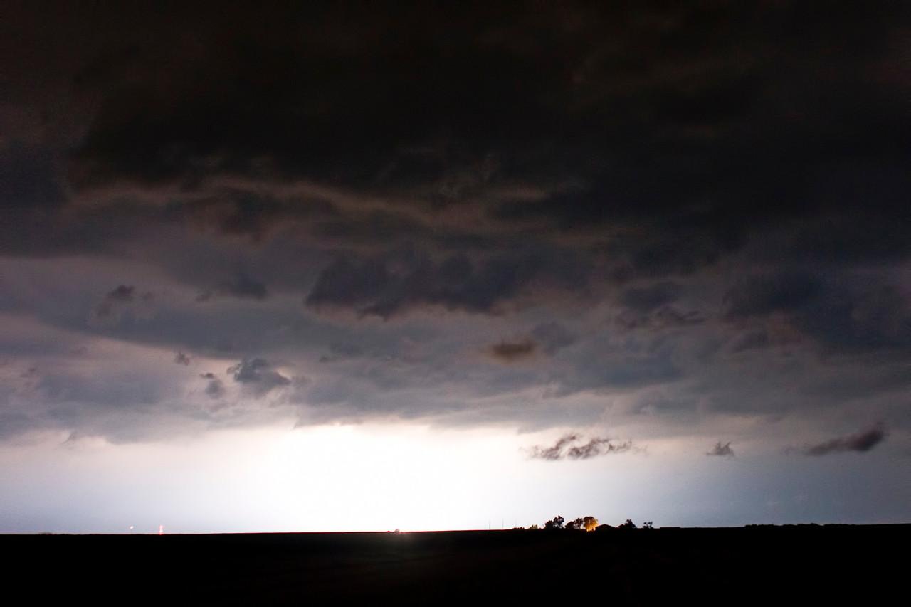 June 16 - Marginally Severe Squall Line, Macon County Illinois